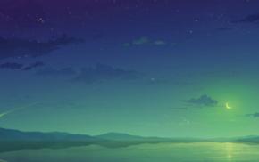 landscape, sky