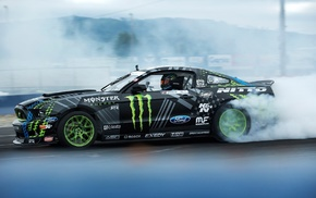 Monster Energy, Ford Mustang, race cars, car, vehicle