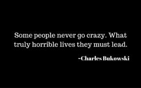 Charles Bukowski, quote