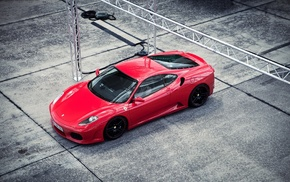 red cars, vehicle, Ferrari, car