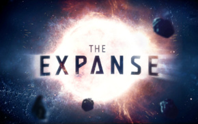 the expanse, typography, science fiction, space