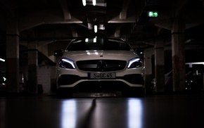Germany, photography, sports car, Mercedes Benz A45, Mercedes, Benz