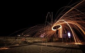 Germany, steel wool, long exposure, lightpaint, photography, Nikon