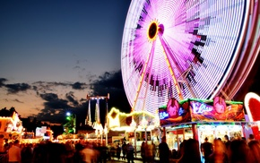 Nikon, Germany, photography, long exposure, vacation, ferris wheel