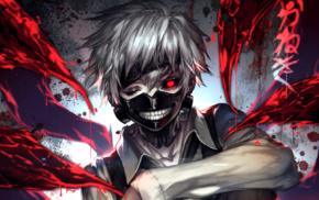 anime, mask, Tokyo Ghoul, Kaneki Ken