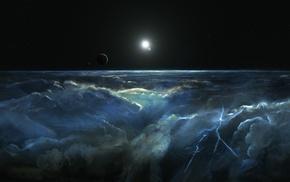 universe, space, nebula