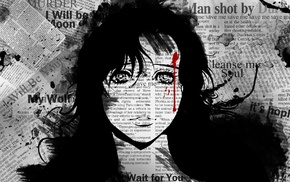 Akiko Aoshika, manga, anime girls, Wolf Guy
