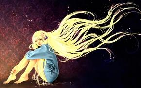 Chobits, blonde, anime girls, anime