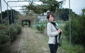 Mikako Zhang Kaijie, sweater, Mikako, girl, model, Asian