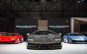 exotic, Lamborghini Centenario LP770, 4, Lamborghini, car