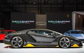 Super Car, exotic, car, Lamborghini Centenario LP770, 4, Lamborghini