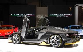 Lamborghini Centenario LP770, 4, Super Car, exotic, Lamborghini, car
