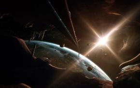 space art, artwork, space, futuristic