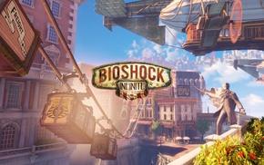 BioShock Infinite, video games, screen shot, Columbia Bioshock, BioShock