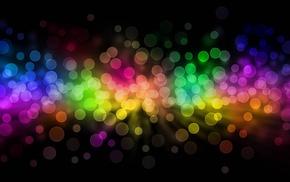 colorful, bubbles