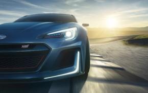 vehicle, race tracks, concept cars, motion blur, car, closeup