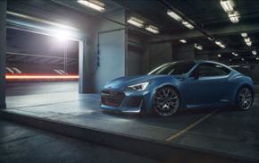 car, Subaru BRZ STI, race tracks, vehicle, concept cars