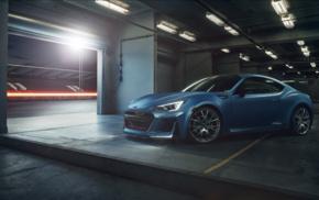 car, Subaru BRZ STI, race tracks, vehicle, concept cars