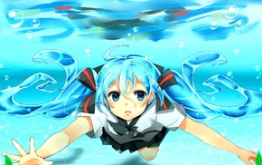 Hatsune Miku, Vocaloid, anime girls, anime