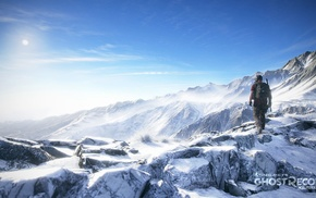 Tom Clancys Ghost Recon, snowy peak, mountains, Tom Clancys Ghost Recon Wildlands, military, commando