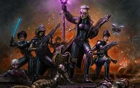 artwork, X, COM, girl, video games
