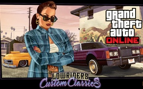 lowrider, Rockstar Games, Grand Theft Auto V Online, sunglasses, tattoo, Grand Theft Auto Online