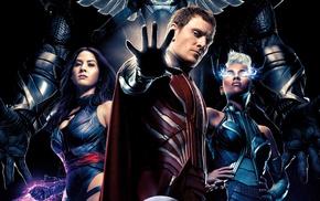 x, men apocalypse, Storm character, Psylocke, X, Men