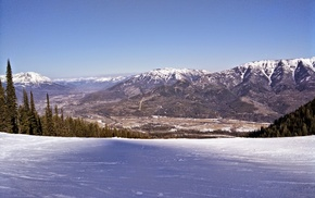 C, Fernie, snow, ski resort