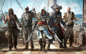 video games, Edward Kenway, fantasy art, blackbeard, Assassins Creed, Ubisoft