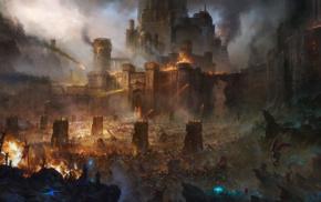 siege, castle