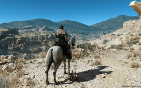 looking into the distance, Metal Gear Solid, Metal Gear Solid V The Phantom Pain