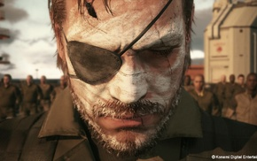 Metal Gear, video games, Metal Gear Solid V The Phantom Pain, Venom Snake, Metal Gear Solid