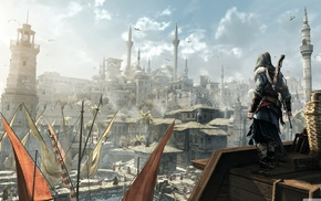 Ezio Auditore da Firenze, Konstantinopolis, looking into the distance, Assassins Creed Revelation, Assassins Creed