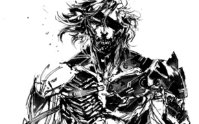 Metal Gear Rising Revengeance, Raiden, Metal Gear, sketches