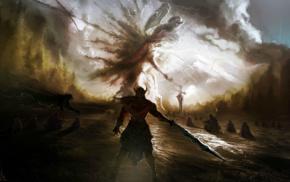 Fantasy Battle, battle, sword