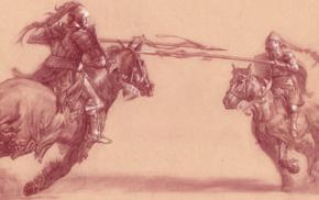 horse riding, battle, lance, horse