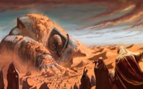 desert, giant, Apocalypse character
