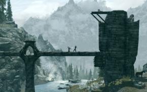 bridge, video games, The Elder Scrolls V Skyrim
