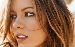 face, teeth, portrait, actress, brown eyes, long hair