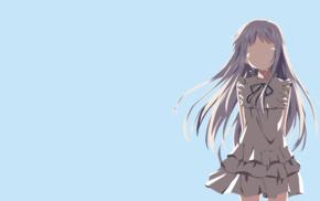 Honma Meiko, Ano Hi Mita Hana no Namae wo Bokutachi wa Mada Sh, anime girls, minimalism