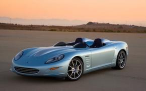 desert, Corvette, Callaway Corvette, Callaway, hills, car