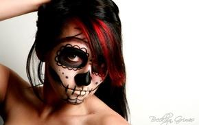 Sugar Skull, girl, Dia de los Muertos