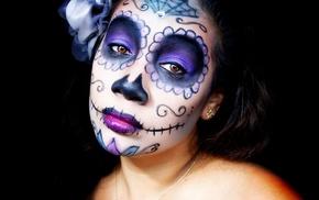 Sugar Skull, Dia de los Muertos, model, girl