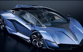 car, concept cars, Lamborghini, vehicle, Lamborghini Resonare Concept 2015