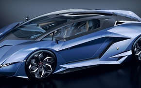 Lamborghini, concept cars, car, Lamborghini Resonare Concept 2015, vehicle
