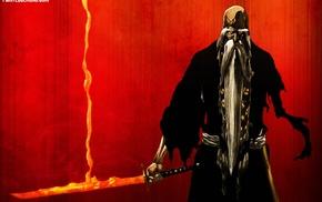 beards, Genrysai Shigekuni Yamamoto, Bleach, sword