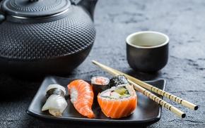 food, sushi, macro