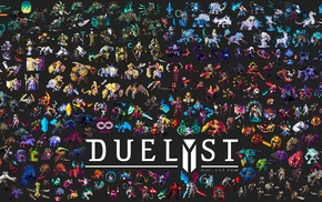 Duelyst, concept art, digital art, artwork, video games