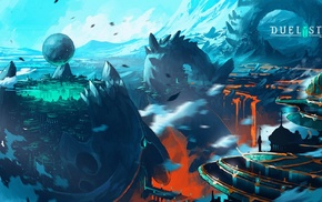 digital art, artwork, video games, Duelyst, concept art