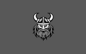 minimalism, Vikings, vector